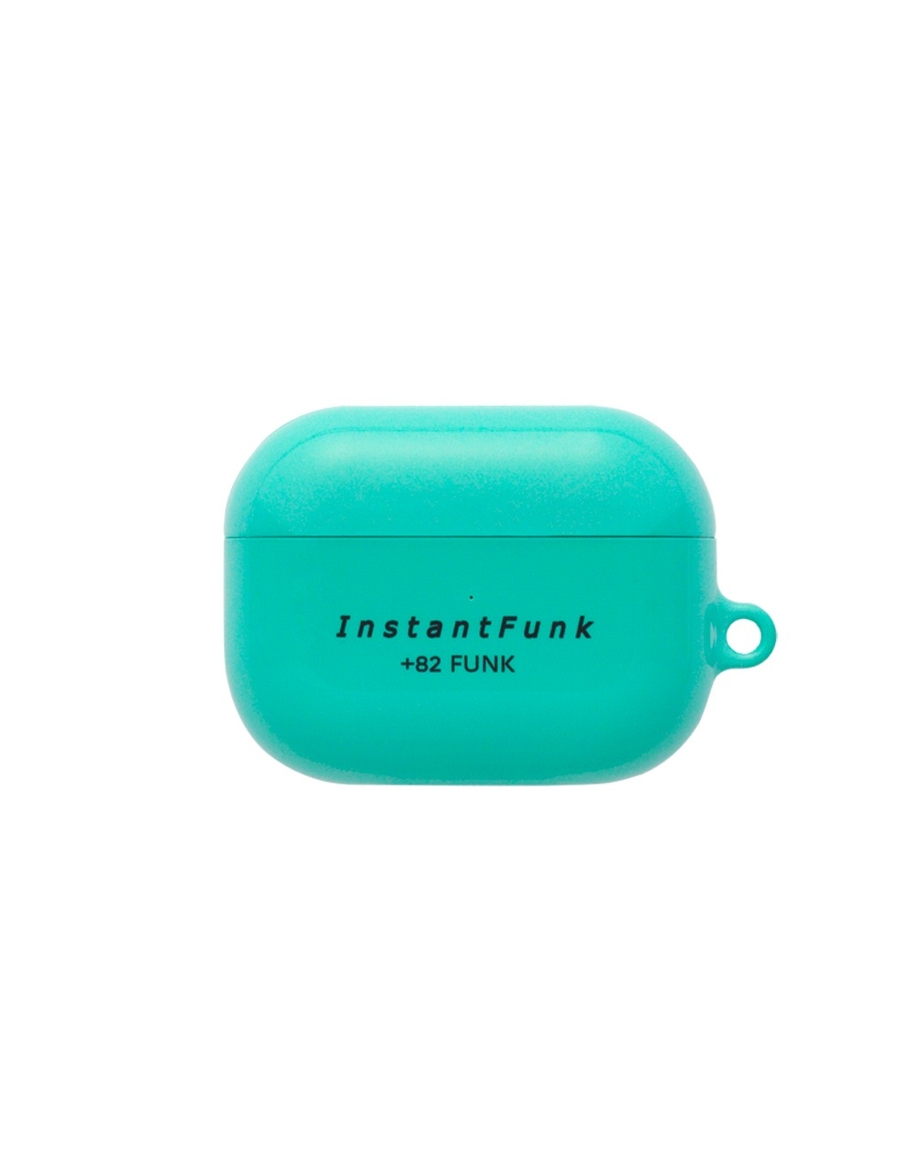 Basic logo airpods pro case - Mint