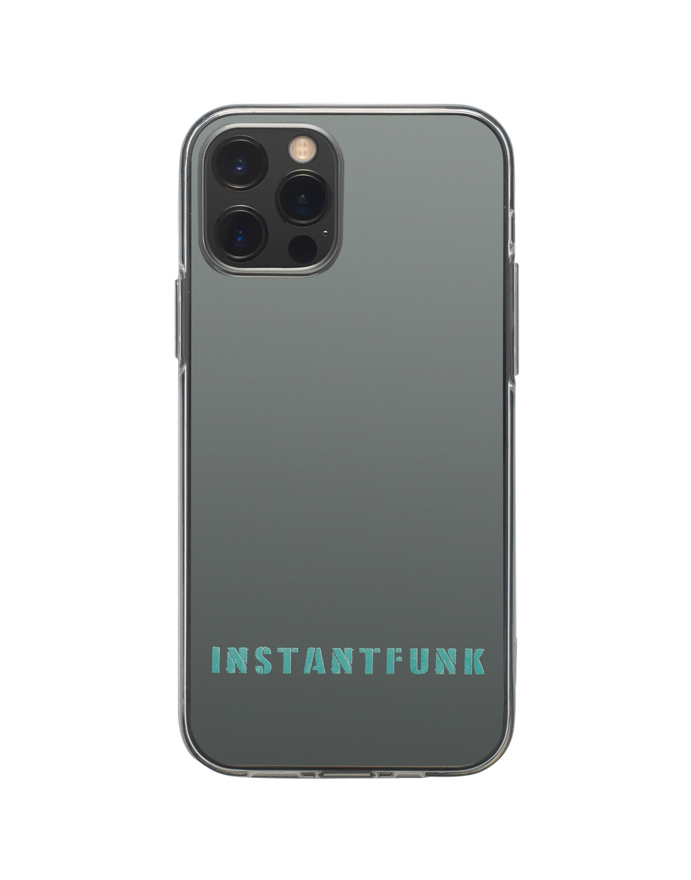 Vintage logo transparent case - Clear