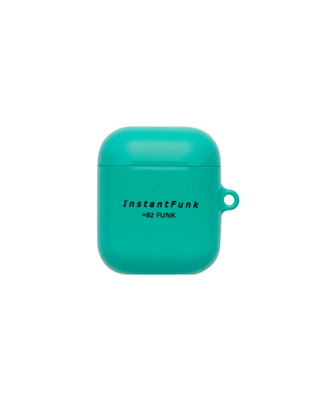 Basic logo airpods case - Mint