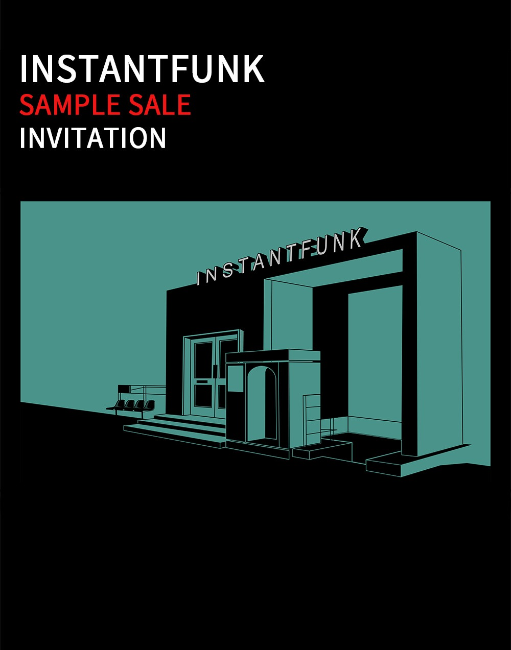 04/29 ~ 05/01 Sample Sale Invitation
